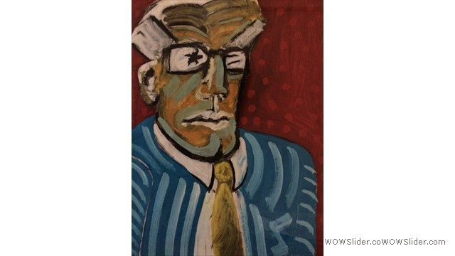 Man with White Hair by Paul Richards